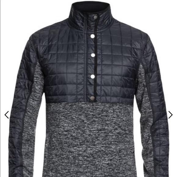Quiksilver Mens Butter Hybrid Fleece Jacket